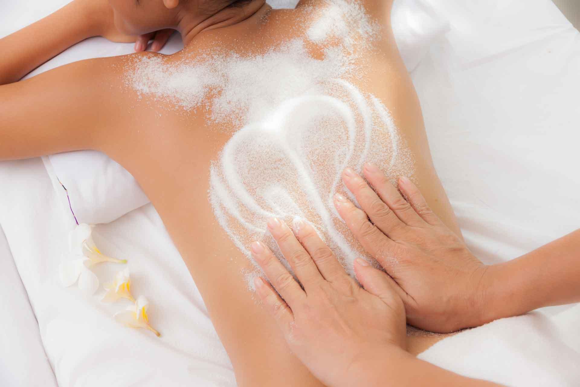 Peelingmassage