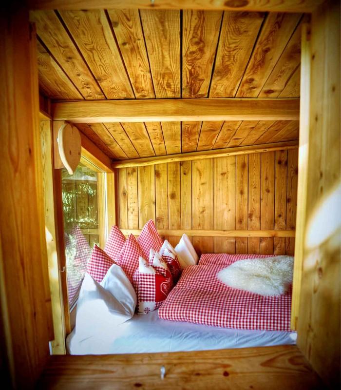 Tree house inside 10