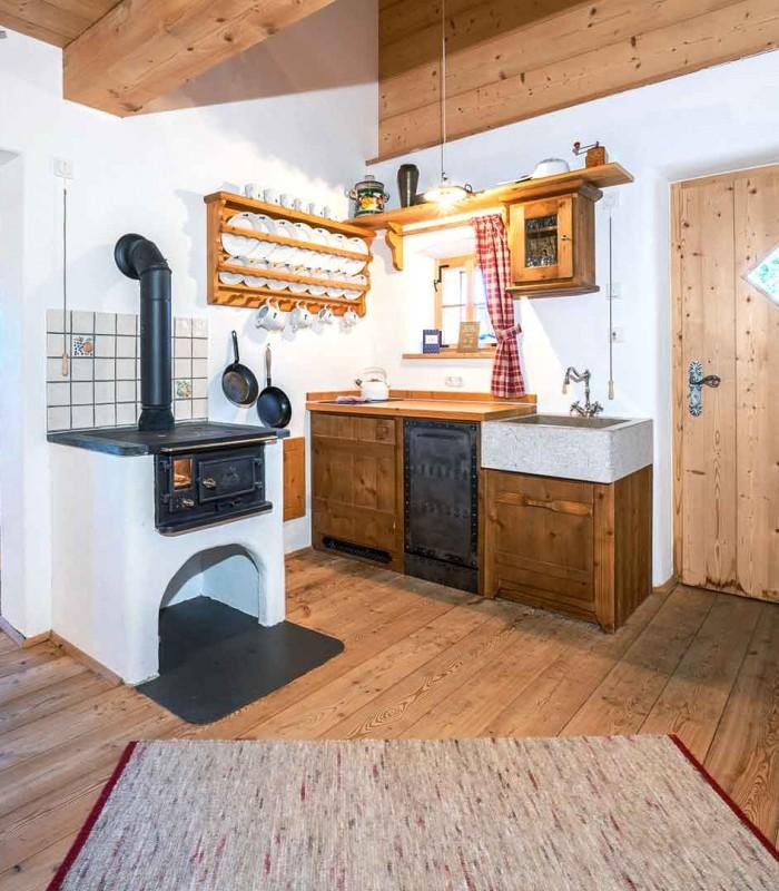 Mountain chalet kitchen 1